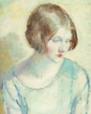 Helen by Mabel Greenberg (1889-1933), oil and pencil on canvas, 1931 © Tyne & Wear Archives & Museums