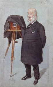 Benjamin Stone (1838-1914), politician and photographer by Sir Leslie Ward (1851-1922). Watercolour, published in Vanity Fair 20 February 1902. © National Portrait Gallery, London