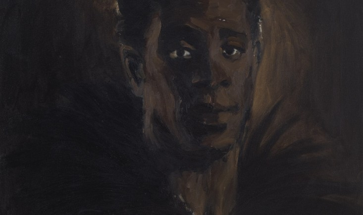 L'Ortolan by Lynette Yiadom-Boakye, 2011. Arts Council Collection, Southbank Centre, London. Courtesy: the artist, Corvi-Mora, London and Jack Shainman Gallery, New York