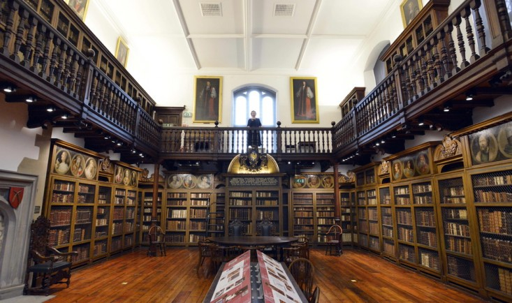 Palace Green Library, established by Bishop John Cosin (1595-1672). Durham University