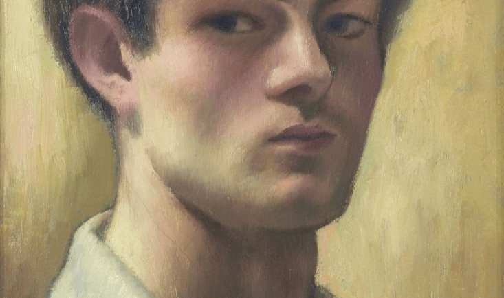 Self-portrait by Mark Gertler (1891-1939), 1920 © Arts Council Collection, Southbank Centre, London