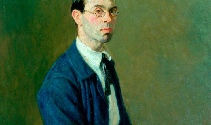 Self-Portrait, c.1906, Bradford Museums & Art Galleries. © the artist's estate / Bridgeman Images. Photo credit: Bradford Museums and