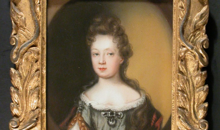 A daughter of Sir Archer Croft in the manner of William Faithorne the elder c.1616–91), pastel on paper, c.1690. Croft Castle, Herefordshire, National Trust. Image © National Trust/ Catriona Hughes & Claire Reeves
