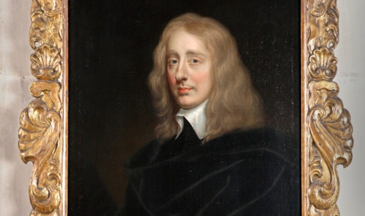 Unknown man, manner of Sir Peter Lely, c. 1645-50. Hardwick Hall, The Devonshire Collection © National Trust / Robert Thrift