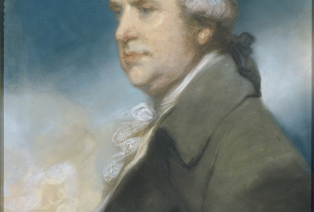 Ozias Humphry, George Macartney, 1st Earl Macartney, 18th century, pastel drawing, 61 x 51 cm. © UK Government Art Collection