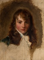 Arthur Atherley, oil sketch from life by Thomas Lawrence (1769-1830), 1791. Oil on canvas, 62.2 x 50.8 cm. © The Holburne Museum