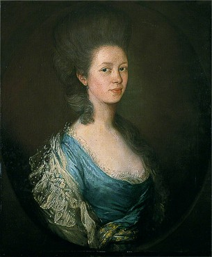 Mrs Kilderbee, née Mary Wayth (1723–1811), by Thomas Gainsborough (1727–1788), oil on canvas, c.1755/65 © Colchester and Ipswich Museums Service