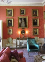 Our tour of the house began in the Breakfast Room, with its impressive collection of sixteenth- and seventeenth-century portraits.