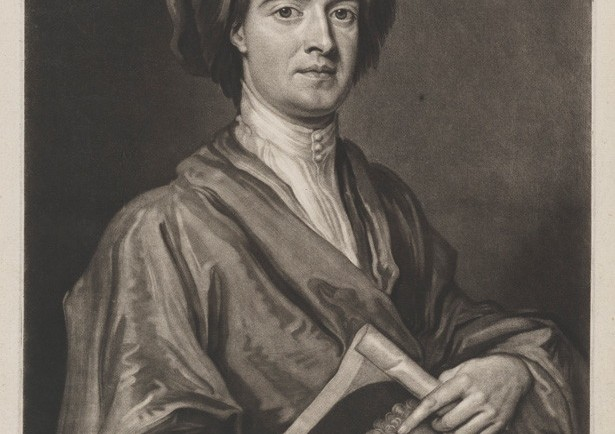 John Smith holding one of his own mezzotints of a portrait of Sir Godfrey Kneller, Bt, by John Smith, after Sir Godfrey Kneller, Bt, mezzotint, 1716 (1696) © National Portrait Gallery, London In around 1688–90 Smith made a mezzotint of one of Kneller's self-portraits and, in return, Kneller painted Smith's portrait, in which he holds his print of Kneller's self-portrait. To complete the cycle, Smith made a mezzotint of Kneller's painted portrait of him, which is the print shown here.