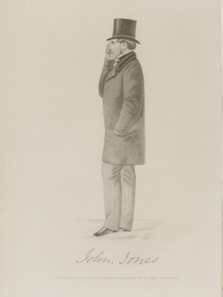 John Jones, engraved by Joseph Brown, from a sketch by Richard Deighton © Victoria and Albert Museum, London
