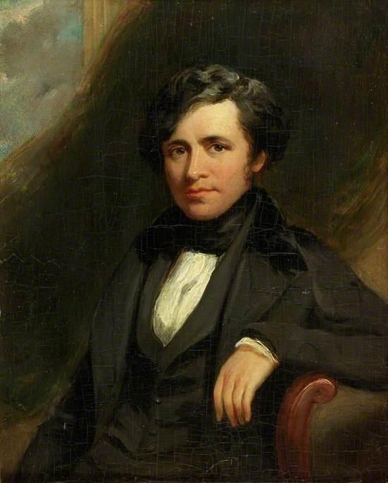 John Wilson Carmichael (1799-1868), marine painter, by Thomas Ellerby, oil on panel, 1839 © Tyne & Wear Archives & Museums