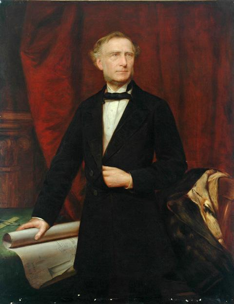 Portrait of Francis Trevithick (1812-1877) © National Railway Museum