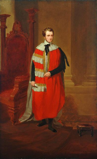 Portrait of the Earl of Yarborough © National Railway Museum