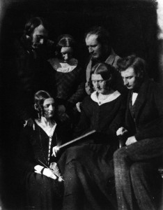 The Adamson Family by David Octavius Hill, and Robert Adamson, calotype, circa 1844-1845 © National Portrait Gallery, London