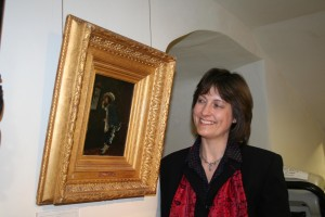 Amelia Marriette, Exhibitions and Collections Curator at Torre Abbey Torquay. Photo credit: Sarah Bagnall