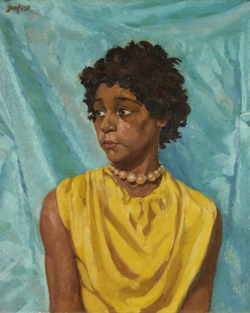 Vera Gomez by James Doxford, c.1950 © Shipley Art Gallery (Gateshead) Tyne and Wear Archives and Museums