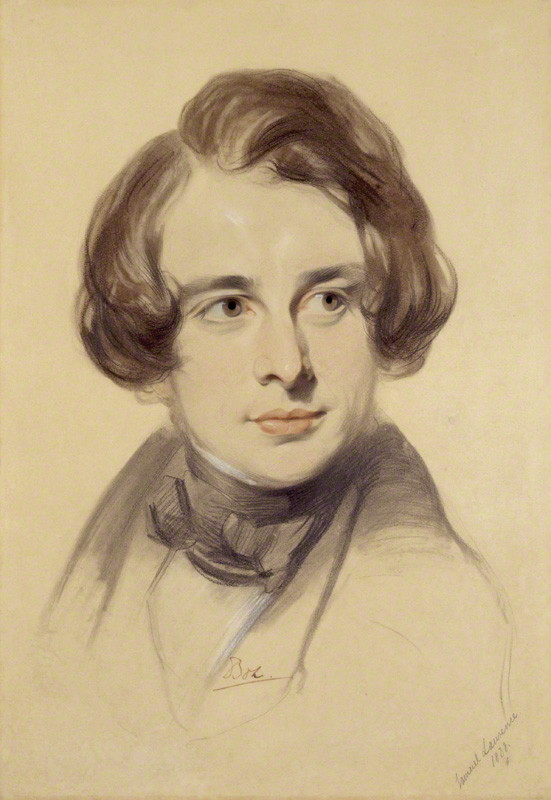 Charles Dickens (1812-1870) by Samuel Laurence, chalk, 1838 © National Portrait Gallery, London