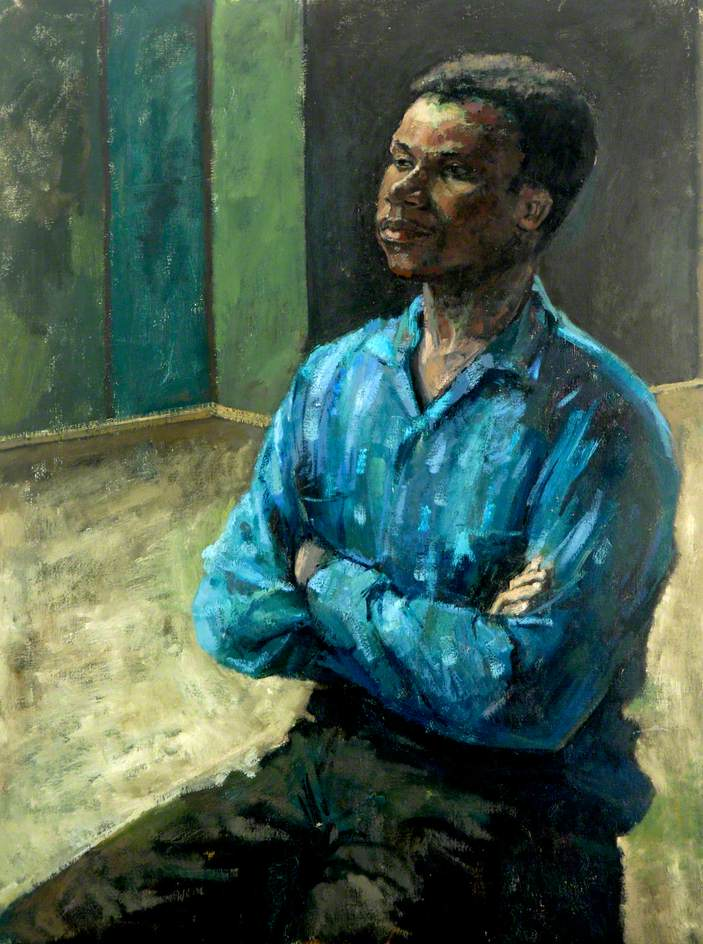'Negro' by Enrico Equi, c.1960 © Hartlepool Museums and Heritage Service