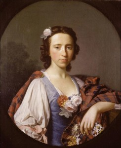 Flora Macdonald by Allan Ramsay (1713-1784), 1749 © University of Oxford - Ashmolean Museum