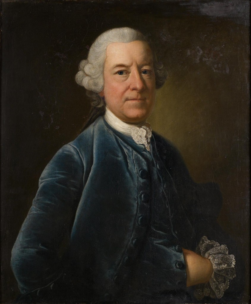 Unknown gentleman, 18th century, oil on canvas 74.5 x 62 cm. Presented by Claude Dickason Rotch, September 1953. © Government Art Collection (2299)