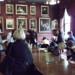 Marcus Risdell and delegates at the Garrick Club