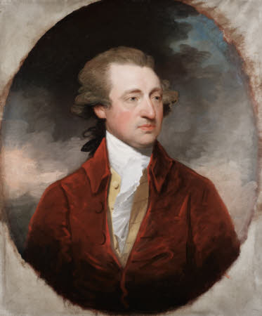 Sir John Hort, 1st Bt (1735-1807) by Gilbert Stuart (1755-1828), 1785, Saltram, Devon ©National Trust Images/Matthew Hollow
