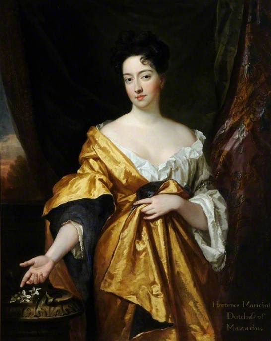 Hortense Mancini, Duchess of Mazarin (1649-1699) by Godfrey Kneller, 1693 © Museums Sheffield