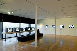 Installation view of 'Moving Portraits', De La Warr Pavilion © DLWP