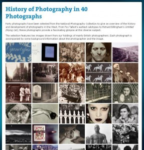 History of Photography in 40 Photographs