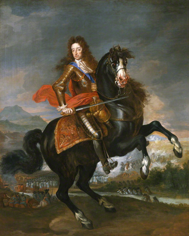 King William III (1650-1702) by unknown artist, c.1690 © National Portrait Gallery, London