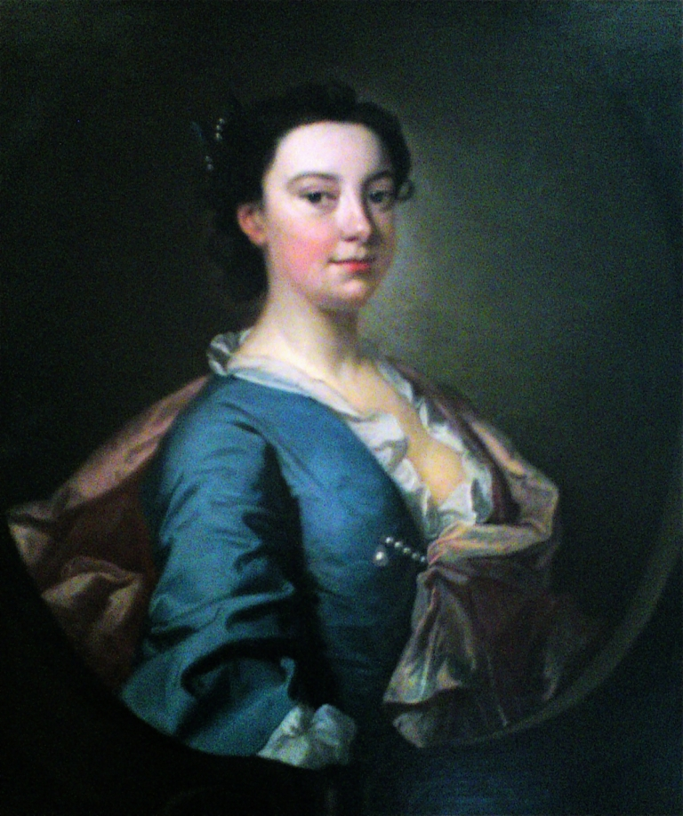 Elizabeth Dyke by Thomas Hudson, c.1740-45 © private collection
