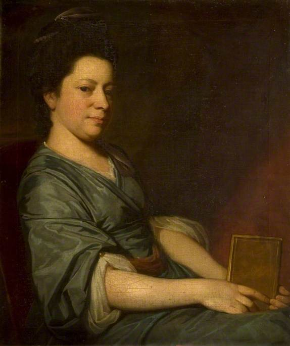 Mrs Thomas Rackett (c.1734–1800) by George Romney c.1776, Dorset County Museum. Reproduced by kind permission of the Dorset Natural History and Archeological Society