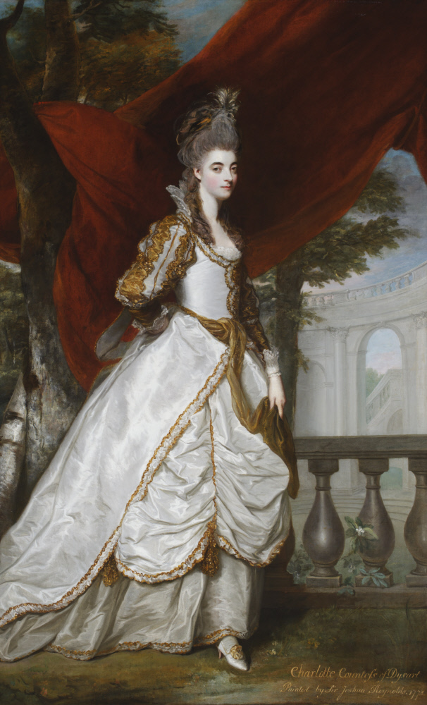 Charlotte Walpole, Countess of Dysart (1738-1789) by Sir Joshua Reynolds PRA (1723-1792) Ham House, Surrey © National Trust Images/John Hammond