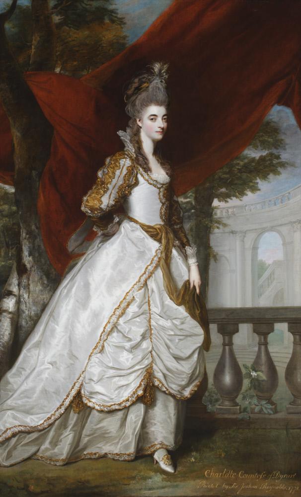 Charlotte Walpole, Countess of Dysart (1738-1789) by Sir Joshua Reynolds PRA (1723-1792) Ham House, Surrey © National Trust Images/John Hammond