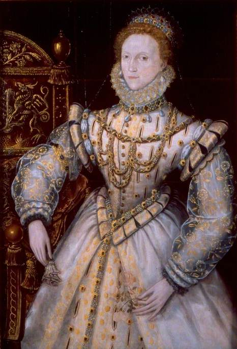 Queen Elizabeth I (1533–1603) by unknown artist, c.1575 © Reading Museum