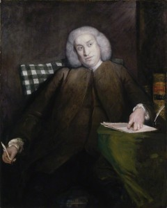 Dr. Samuel Johnson by Sir Joshua Reynolds, 1756-1757 © National Portrait Gallery, London