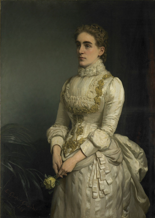 Lady Eleanor Rollit by Ernest Gustave Girardot (1840-1905) © Guildhall collection, Hull Museums
