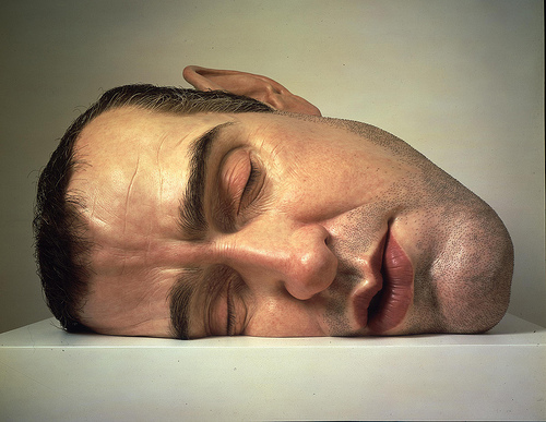 Mask II by Ron Mueck © Anthony d'Offay, London