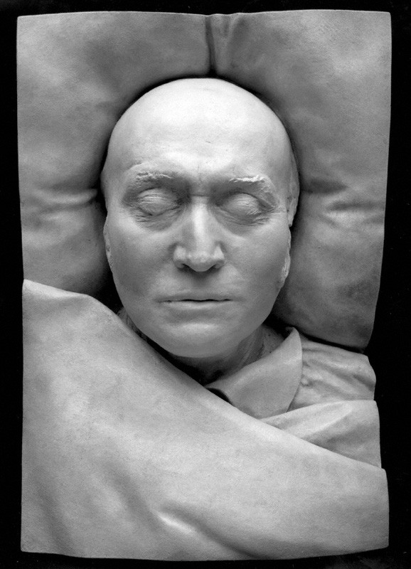 Sir Thomas Lawrence (1769-1830), portrait painter, collector and President of the Royal Academy, by unknown artist, plaster cast of death-mask, 1830 © National Portrait Gallery, London