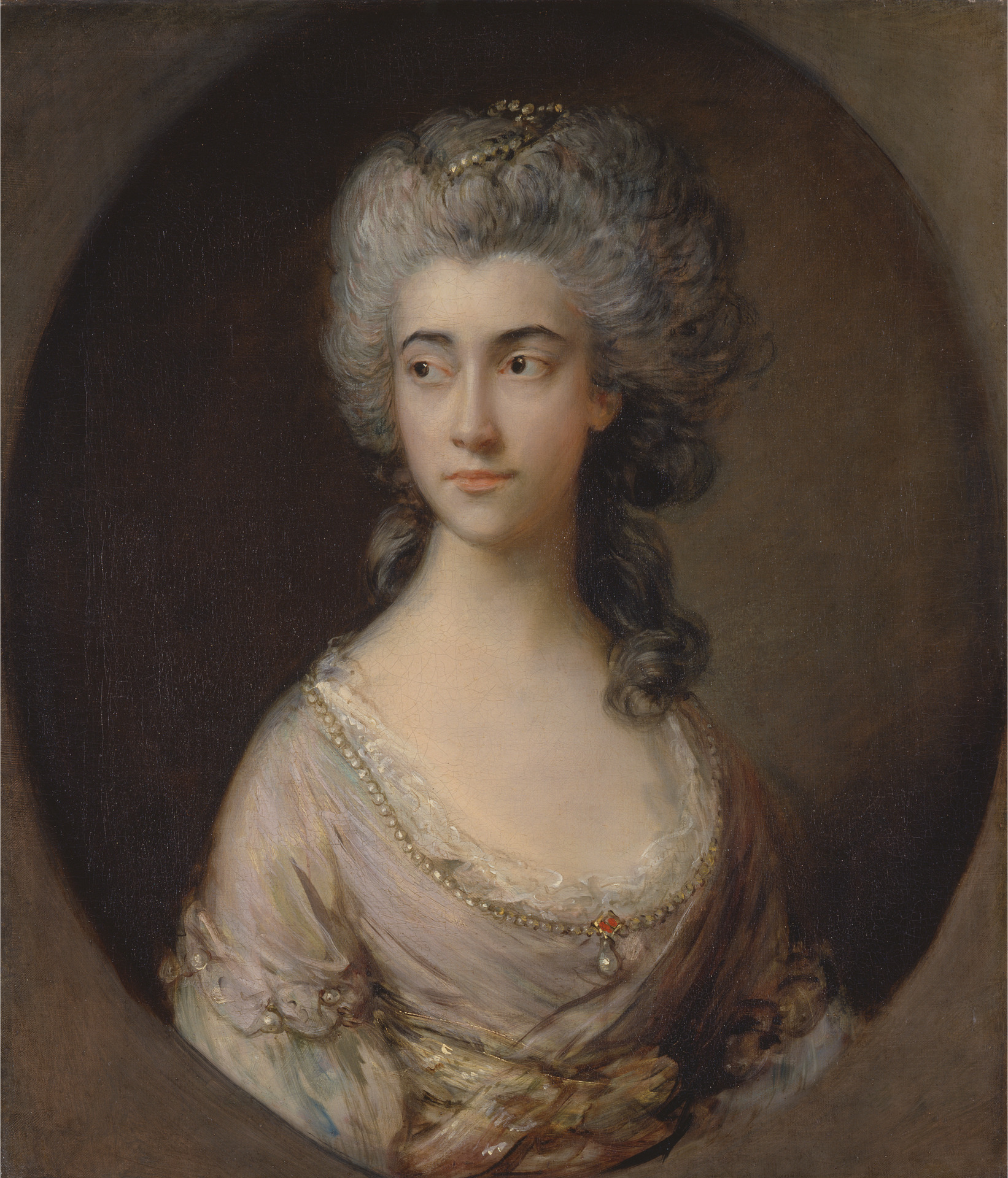 Mary Heberden by Thomas Gainsborough (1727-1788) c.1777 © Yale Center for British Art, Paul Mellon Collection