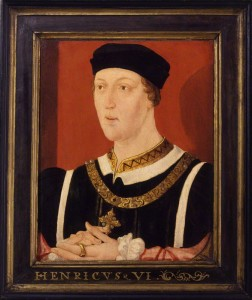 King Henry VI by unknown English artist, oil on panel, c.1540 © National Portrait Gallery, London