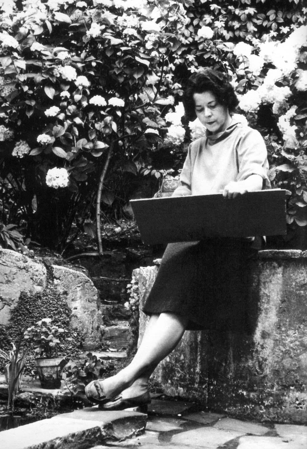 Thelma Hulbert by Eileen Tweedy, Holland Park, 1960s