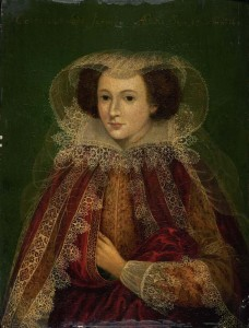 Portrait of Catherine Killigrew, Lady Jermyn (after Marcus Gheeraerts) by unknown artist © Bury Art Museum, Greater Manchester, UK