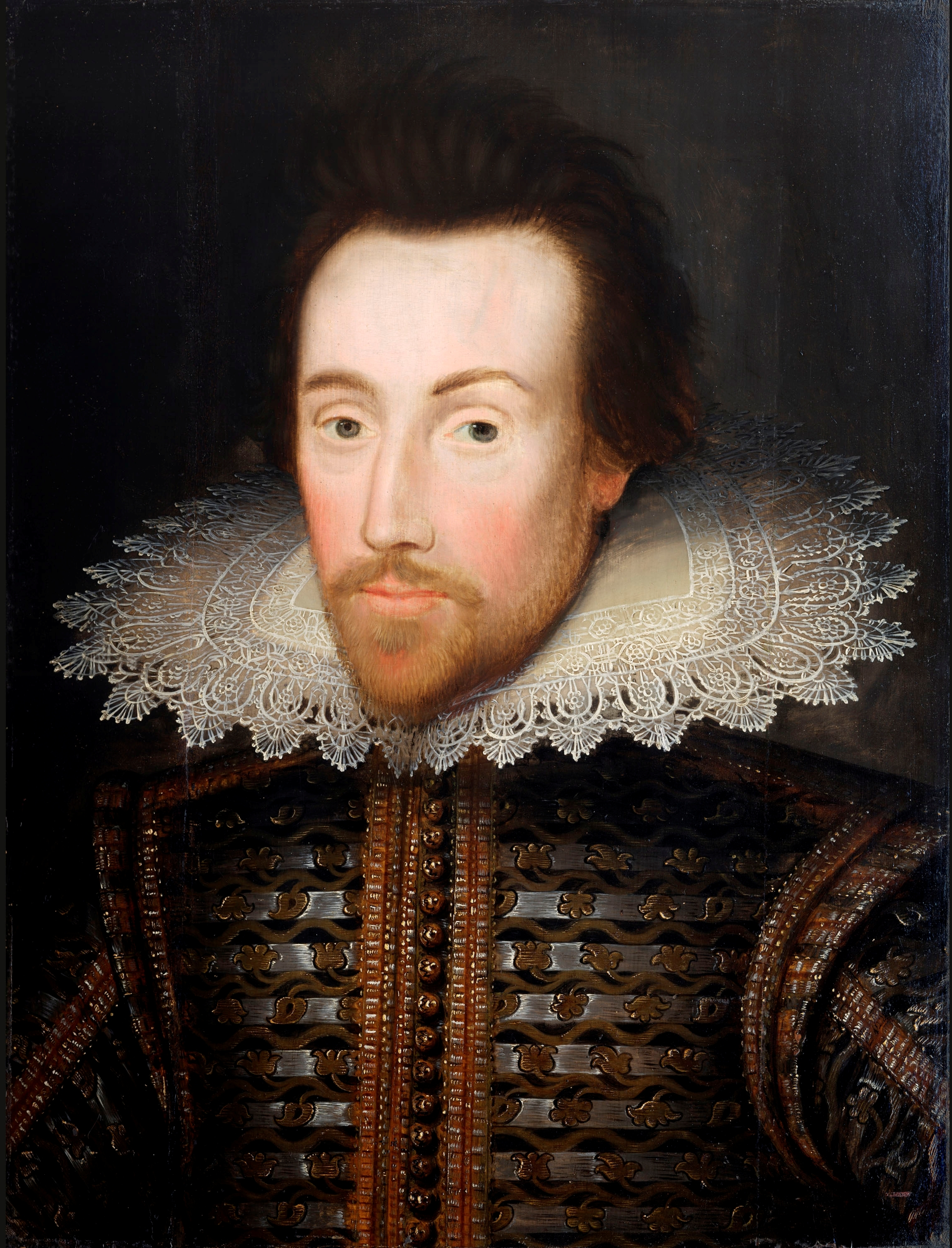 Portrait owned by The Shakespeare Birthplace Trust.