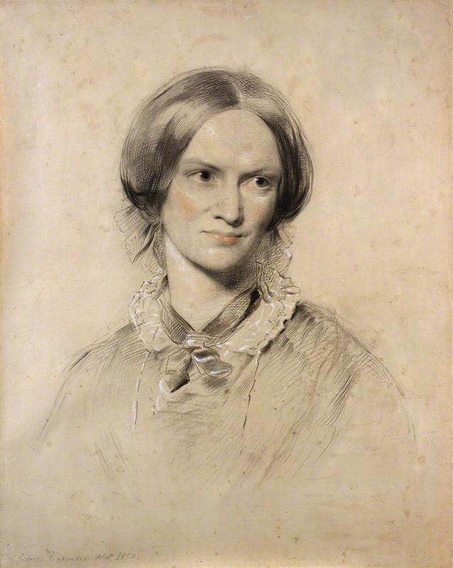 Charlotte Brontë (1816-55), novelist, by George Richmond, chalk, 1850. © National Portrait Gallery, London