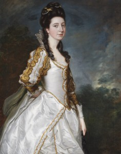 Susanna Trevelyan, Mrs John Hudson (1736-1779) by Thomas Gainsborough RA, 1761. National Trust, Wallington, Northumberland ©National Trust Images/John Hammond