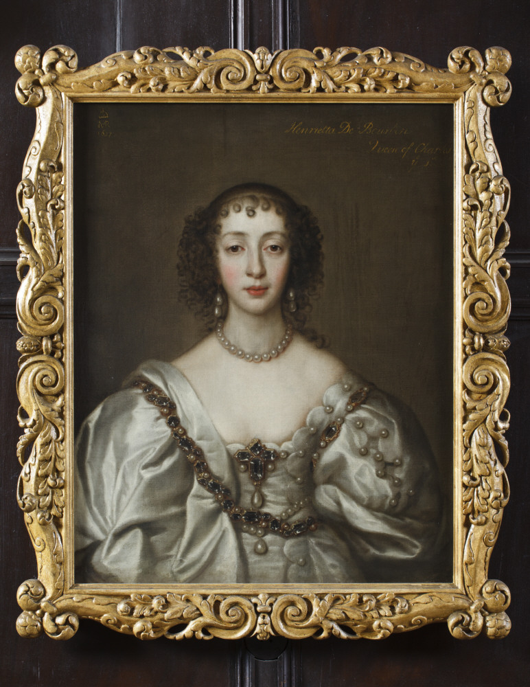 Queen Henrietta Maria (1609–1669) after Sir Anthony Van Dyck (Antwerp 1599 - London 1641). Ham House, Surrey . © National Trust Images/John Hammond
