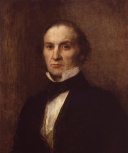 William Ewart Gladstone by George Frederic Watts, oil on panel, 1859. © National Portrait Gallery, London