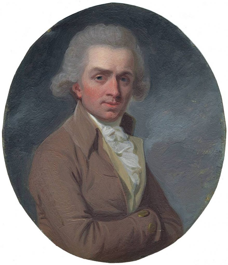 Portrait of Samuel de Wilde (1748-1832) by unknown artist