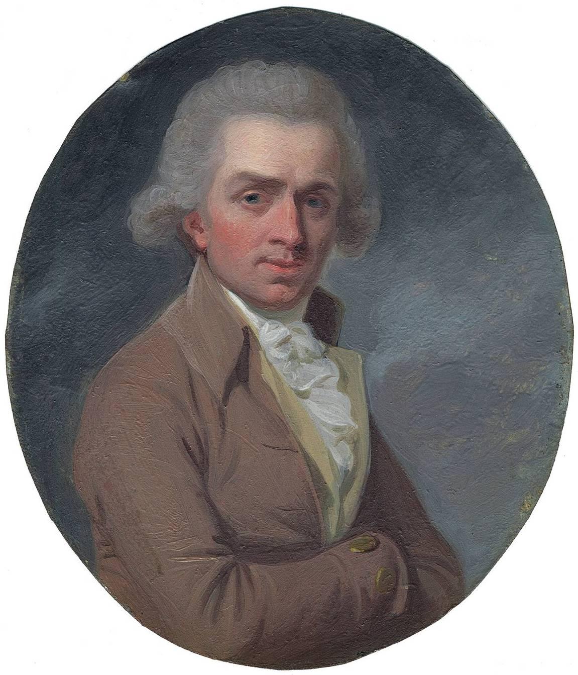 Portrait of Samuel de Wilde (1748-1832) by unknown artist